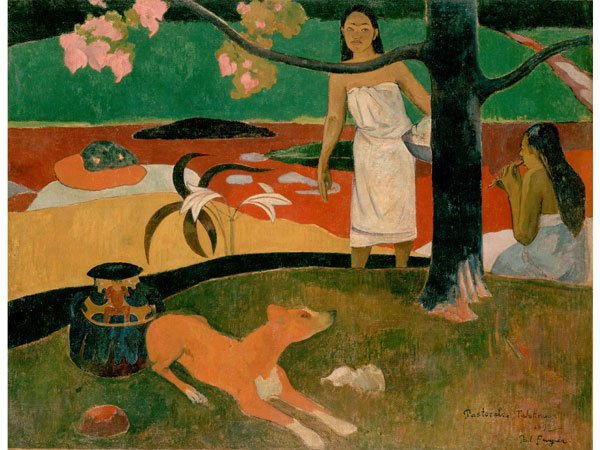 Paul Gauguin: A Mythic Life in Painting   The Bark