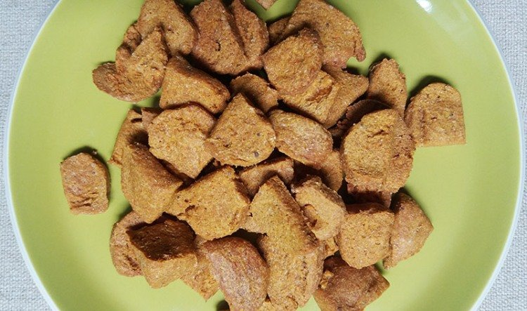 Carrot treats for dogs